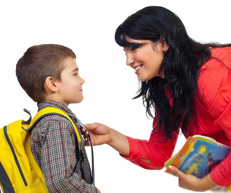Встреча ребенка из школы, детского сада (Сопровождение ребенка)
